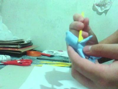 ¿Como hacer un delfin en porcelana fria? tutorial