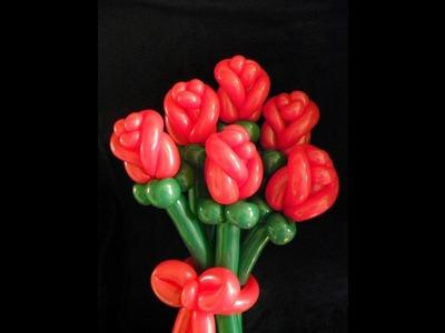 Como Hacer una Rosa Cerrada en globos - Hogar Tv  por Juan Gonzalo Angel