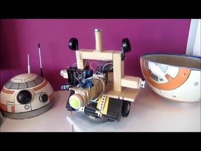 ¿Cómo hemos hecho a nuestro BB-8 con meteriales caseros?