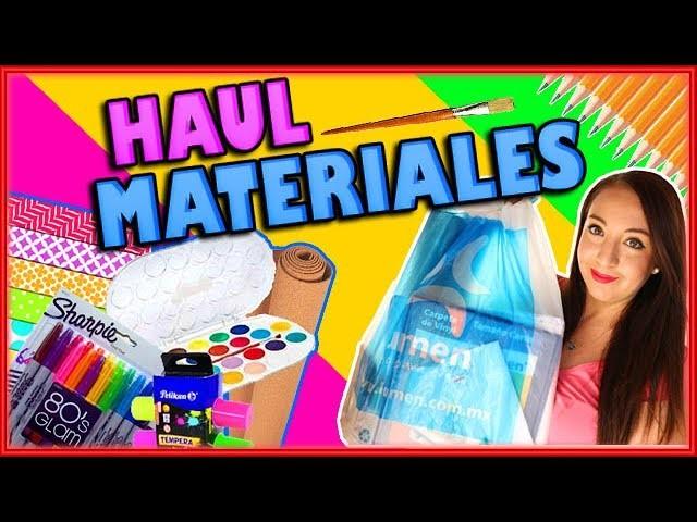 Compras de materiales para regreso a clases - Ingenio KD