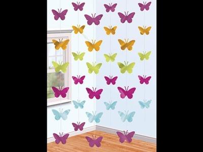 DIY Cortina de mariposa