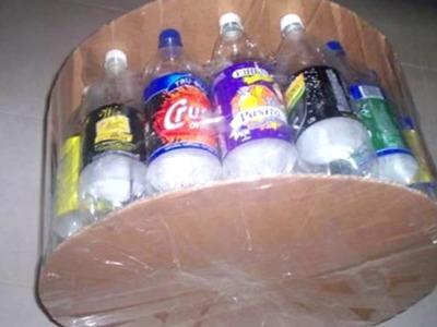 Fabricación de un Puff con botellas recicladas