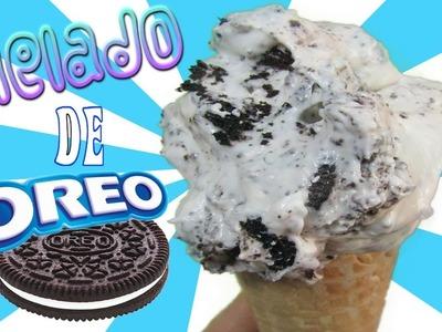 Helado de galleta Oreo Cremosito | FACIL |  Cookies and cream Ice cream