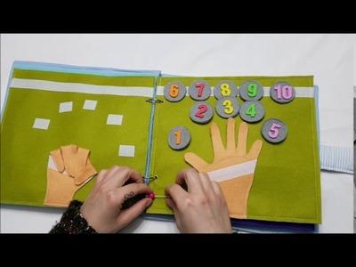 Nuevo libro sensorial ideal para niños y niñas con necesidades educativas especiales