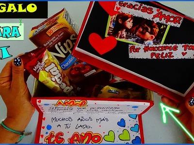 Regalo para mi Novio - Gift for my Boyfriend - Creaciones Betina