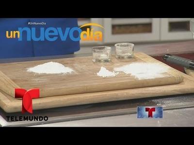 Tip de cocina: aprende a reemplazar el polvo para hornear | Un Nuevo Día | Telemundo
