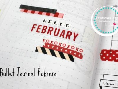 Un mes con el Bullet Journal, planea conmigo el mes de febrero * Creaciones Izzy