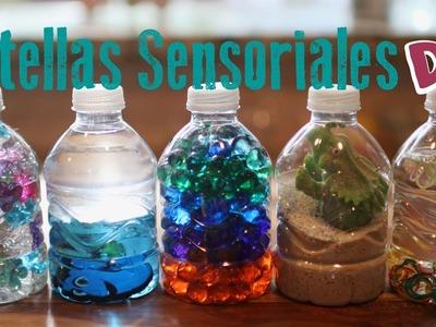 Actividades con Toddlers | Botellas Sensoriales DIY para niños pequeños o bebes