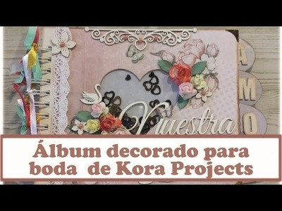 Álbum de boda con Kora Projects