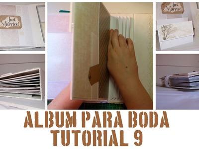 ÁLBUM PASO A PASO - TUTORIAL 9: PÁGINA 16 Y ENCUADERNACIÓN