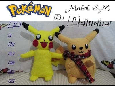 Cómo hacer a Pikachu de peluche (2 modelos)