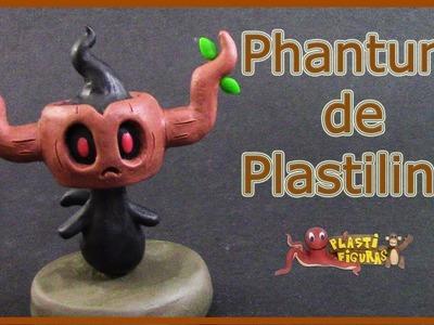 Como Hacer a Pokémon Phantump de Plastilina.How To Make Pokémon Phantump with Plasticine