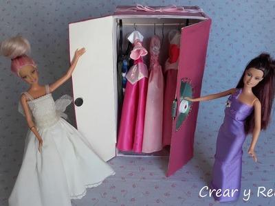 Cómo hacer armarios para muñecas. Parte 1