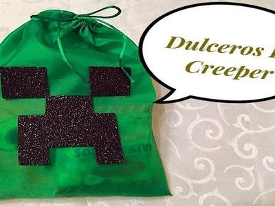 Como Hacer Dulceros De Creeper (( Minecraf ))
