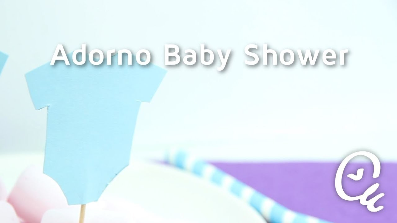 Cómo hacer pequeños detalles para decorar un Baby shower | facilisimo.com