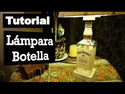 Cómo hacer tu propia lámpara botella   Tutorial