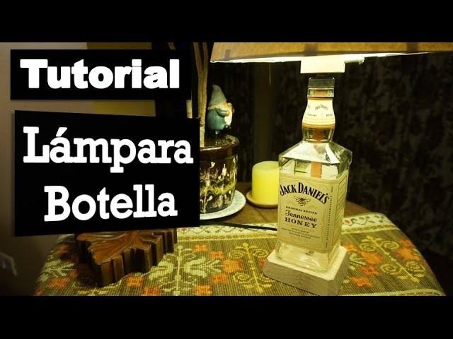 Cómo hacer tu propia lámpara botella | Tutorial
