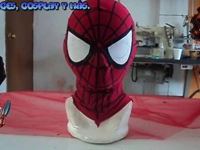 Como hacer una mascara de Spiderman + patrones en la descripción.