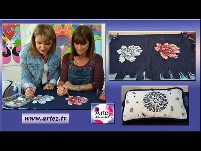 Como pintar tu propio diseño en prendas de tela