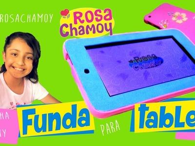 Funda para tablet hecha de Fomy (goma eva) ???? DIY estuche para tablet ????