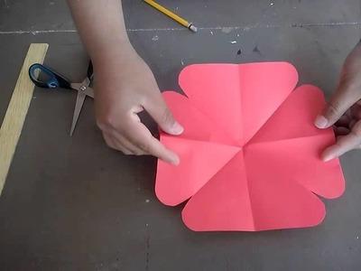 Mariposa de papel.