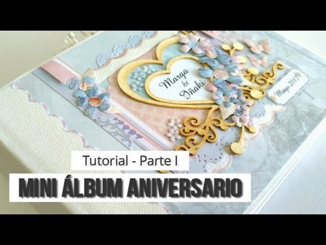 MINI ALBUM CON MALETIN, CON KORA PROJECTS - TUTORIAL (PARTE 1 - ESTRUCTURA) | LLUNA NOVA SCRAP