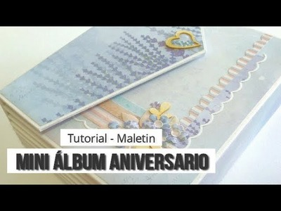 MINI ALBUM CON MALETIN, CON KORA PROJECTS - TUTORIAL (PARTE 4 - MALETIN) | LLUNA NOVA SCRAP