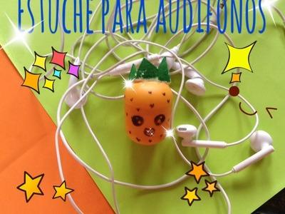 Nicky-Como hacer estuche para tus audífonos.