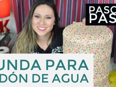 PASO A PASO - Funda para bidón de agua