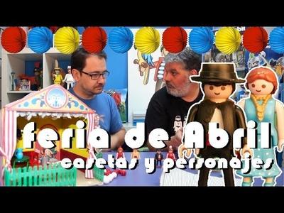 PlaymoTV | Feria de Abril | Cómo hacer casetas y personajes