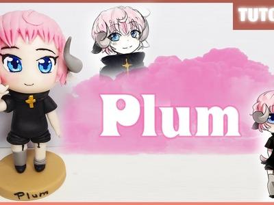 Plum (Oc) ✰ Tutorial ✰ Polymer Clay ✰ Porcelana Fría ✰ Plastilina
