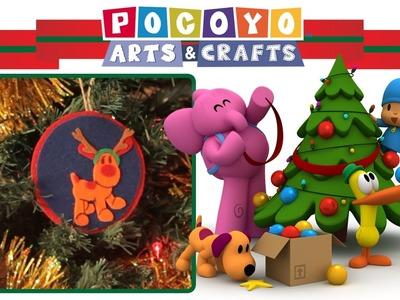Pocoyo Arts & Crafts: Adorno para el árbol de Loula | NAVIDAD