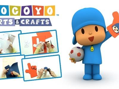 Pocoyo Arts & Crafts: ¡Anima a tu equipo junto a Pocoyó con tu dedo de goma eva!