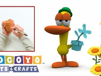 Pocoyo Arts & Crafts: Maceta pintada | ¡Bienvenida, primavera!