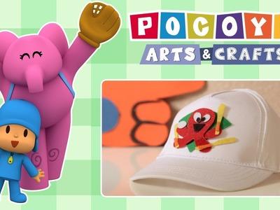 Pocoyo Arts & Crafts: Patch de fieltro de Pocoyó para tu gorra de Baseball