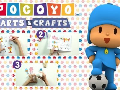 Pocoyo Arts & Crafts: Pinzas futbolistas de Pocoyó para futboleros