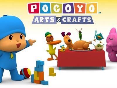 Pocoyo Arts & Crafts: Portamenús para Acción de Gracias | THANKSGIVING