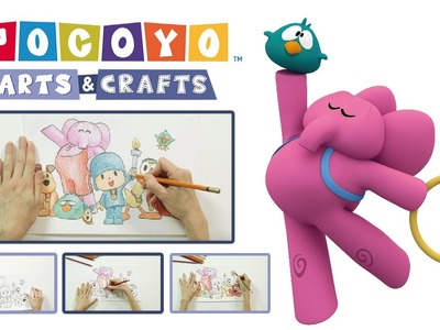Pocoyo Arts & Crafts - Póster deportivo | Pocoyo Games