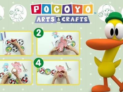 Pocoyó Arts & Crafts: Una guirnalda de penalti ¡Gol de Pocoyó!
