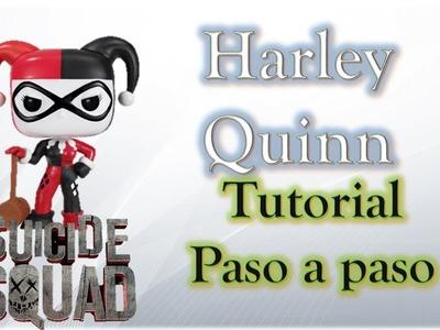 Suicide Squad ESPECIAL- Como hacer a Harley Quinn Funko Pop de plastilina paso a paso