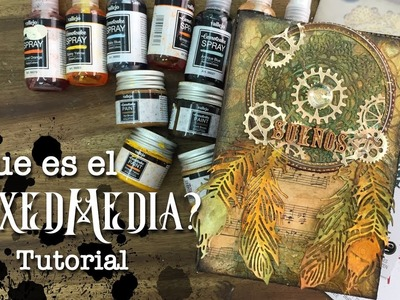 Tutorial Caja Mixed Media steampunk