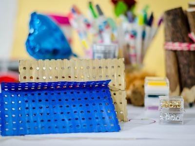 Tutorial: como hacer un sobre con tiras de papel reciclado de impresora DIY