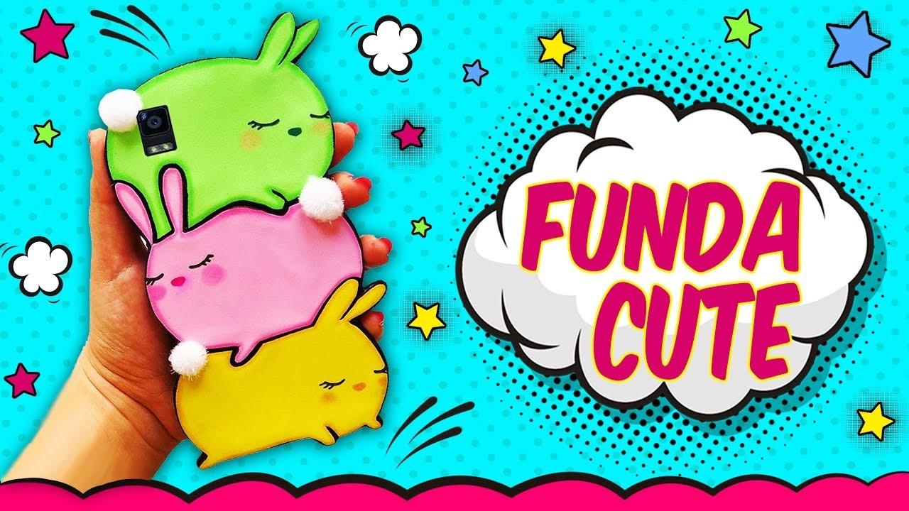 ♥ Tutorial: Funda de Móvil con Conejitos ♥
