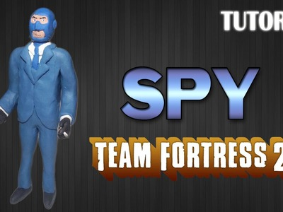 Tutorial Spy en Plastilina. Team Fortress 2. How to make Spy with Clay