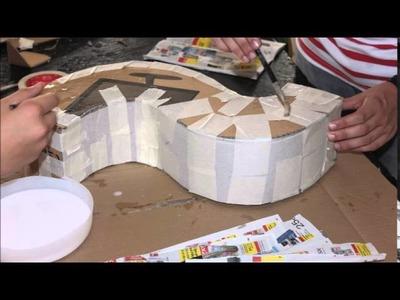 Videotutorial Letra de cartón, por Tomás Morales