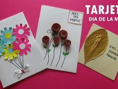 3 ideas de tarjetas para el día de la madre fáciles y bonitas para regalar