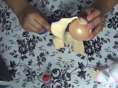 Angelitos fofuchos con botes de comida para bebe
