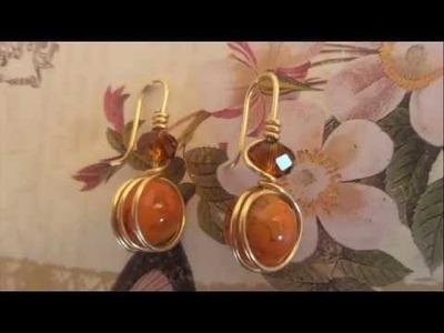 473e5c7ed0f6 Aretes Faciles de hacer. ( Earrings made easy.)