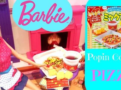 Barbie Cocina una Pizza para Teresa + Cómo Hacer Popin Cookin Pizza DIY