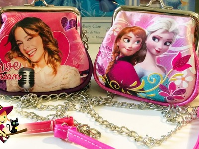 Bolsos de Juguetes de Violetta y Frozen | Juguetes para Niñas